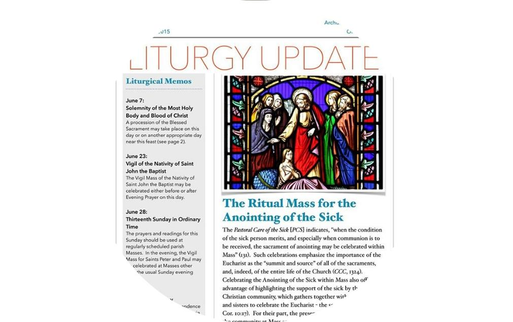 Liturgy Homepage button - newsletter