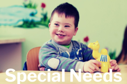 Respect Life - special needs banner