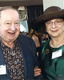 Ed McDermott and Nancy Stein